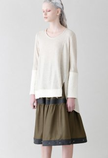 unit bright twill skirt