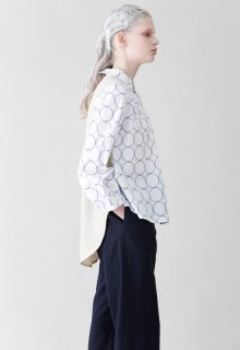 < pre-order >chain dot shirt