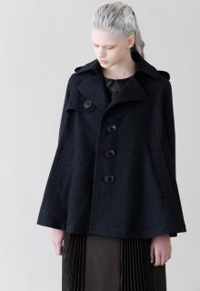 < pre-order >British wool short coat