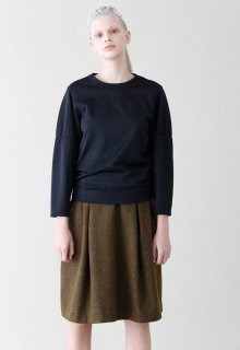 < pre-order >British wool skirt