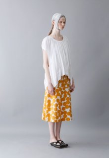 air dot cotton skirt