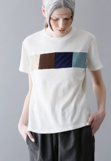 colorful block t-shirt