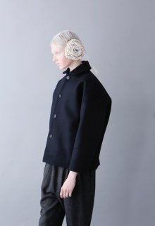 double weave melton coat1