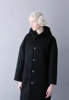 double weave melton coat2