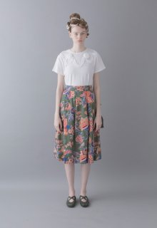 < pre-order > chaos flower skirt