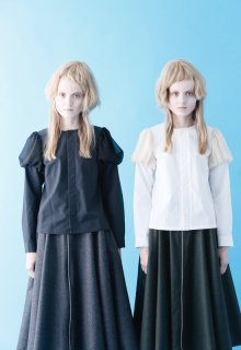 < pre-order > modern weather cloth blouse