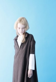 < pre-order > etamine wool one-piece