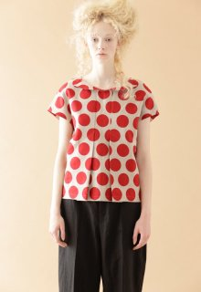 victoria dot blouse