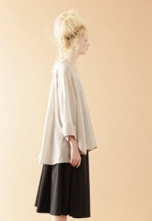 light air ramie yarn blouse
