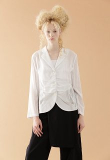cotton tencel voile jacket