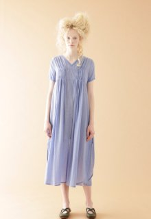 cotton tencel voile one-piece