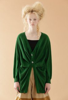 cotton linen knit cardigan