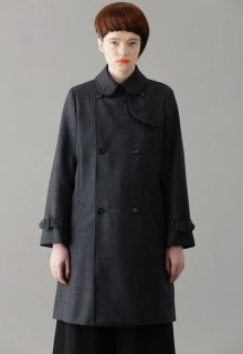 mohair worsted coat