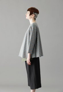 wool tenjiku border pull-over