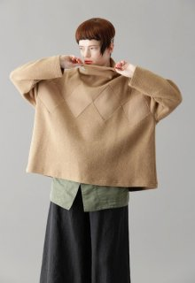 rhombus double face pull-over