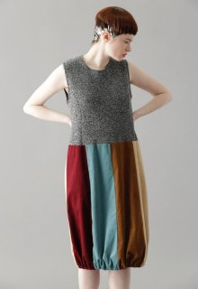 woolen quarter one-piece