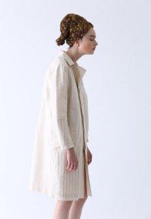 < pre-order > double-sided slub coat