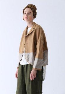 < pre-order > double-sided slub jacket
