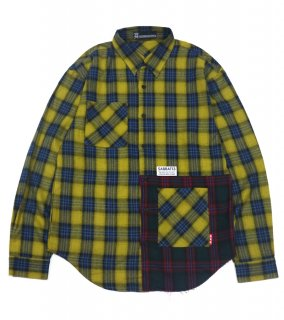 <img class='new_mark_img1' src='//img.shop-pro.jp/img/new/icons1.gif' style='border:none;display:inline;margin:0px;padding:0px;width:auto;' />WITCH CRAFT CHECK SHIRTS (YE)
