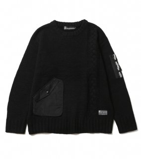 <img class='new_mark_img1' src='https://img.shop-pro.jp/img/new/icons1.gif' style='border:none;display:inline;margin:0px;padding:0px;width:auto;' />ALTER SWEATER (BK)