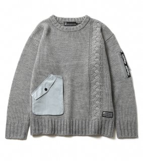 <img class='new_mark_img1' src='https://img.shop-pro.jp/img/new/icons1.gif' style='border:none;display:inline;margin:0px;padding:0px;width:auto;' />ALTER SWEATER (GY)