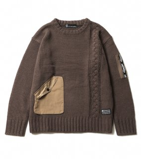 <img class='new_mark_img1' src='https://img.shop-pro.jp/img/new/icons1.gif' style='border:none;display:inline;margin:0px;padding:0px;width:auto;' />ALTER SWEATER (BR)
