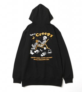 <img class='new_mark_img1' src='https://img.shop-pro.jp/img/new/icons1.gif' style='border:none;display:inline;margin:0px;padding:0px;width:auto;' />CHILLAXING HOODIE (BK)