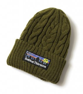<img class='new_mark_img1' src='https://img.shop-pro.jp/img/new/icons1.gif' style='border:none;display:inline;margin:0px;padding:0px;width:auto;' />GRAVE KNIT CAP (OL)