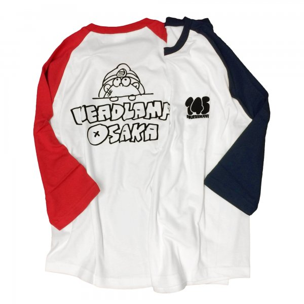 <img class='new_mark_img1' src='https://img.shop-pro.jp/img/new/icons20.gif' style='border:none;display:inline;margin:0px;padding:0px;width:auto;' />【SALE】LAMP BOY 3/4 Raglan