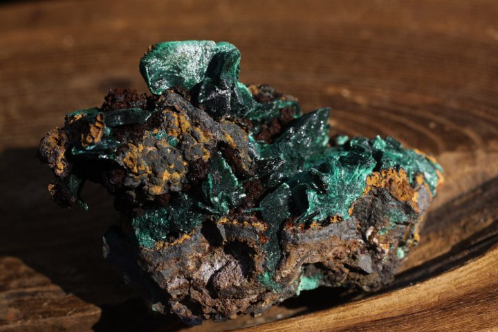 マラカイト原石・001の画像