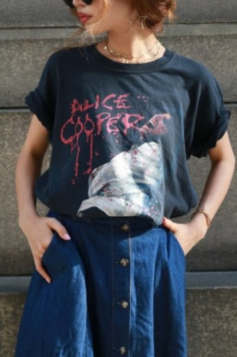 【vintage】Alice Cooper rock tee