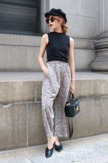 Bohemian easy pants