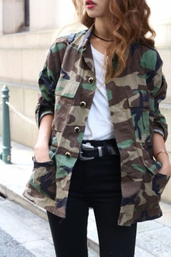 US army remake military  jacket