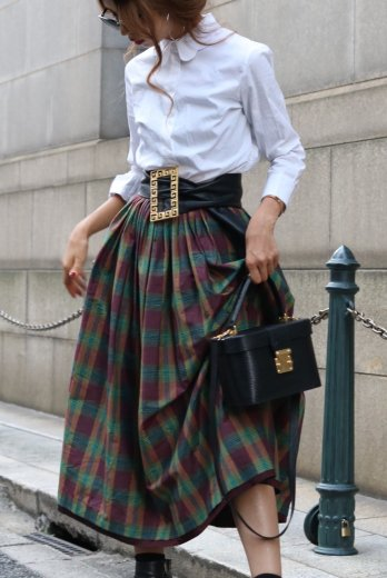 check flare volume skirt
