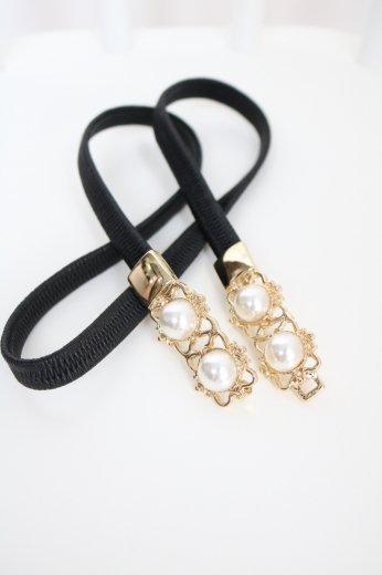 4 pearl waist belt