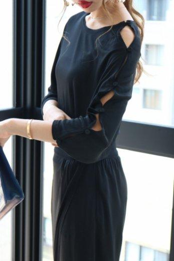 【vintage】FENDI / french sleeve dress