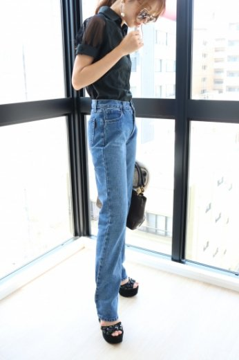 【vintage】FENDI / straight denim pants