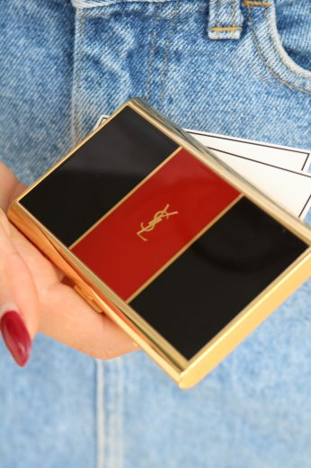 【vintage】Yves Saint Laurent / card case