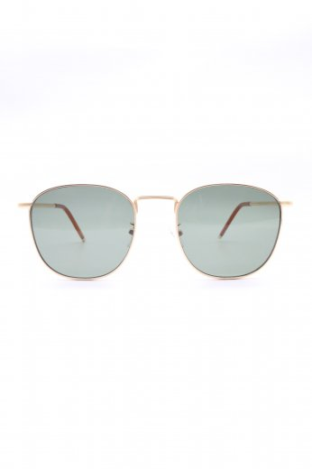 thin temple sunglasses / gold