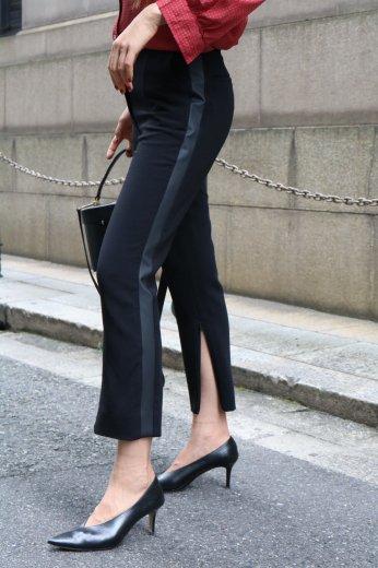 【vintage】FENDI / side line black slacks pants
