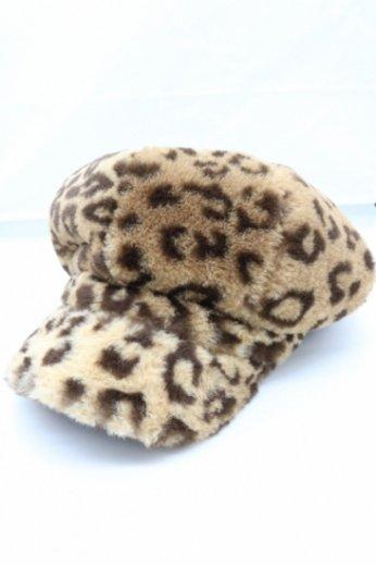 leoperd pattern fur casket
