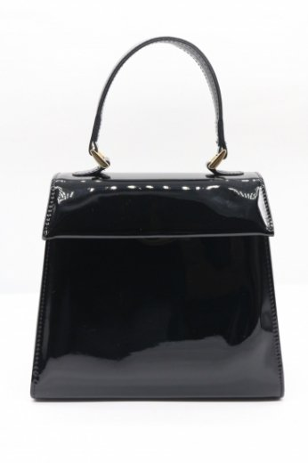 2way enamel hand bag
