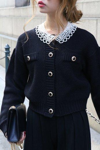 pearl detachable collar / lace collar design