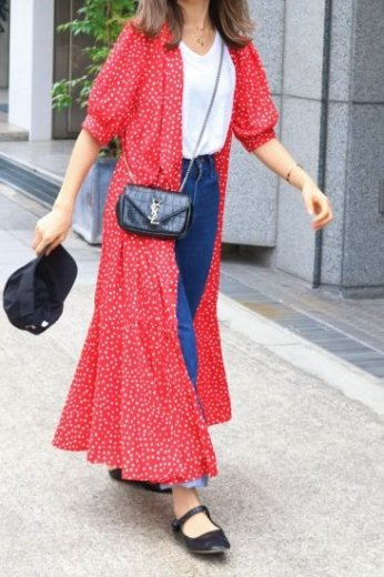 <img class='new_mark_img1' src='https://img.shop-pro.jp/img/new/icons20.gif' style='border:none;display:inline;margin:0px;padding:0px;width:auto;' />dot pattern wrap dress (camisole set)/ red