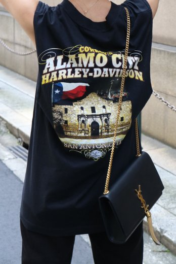 【vintage】HARLEY-DAVIDSON / Texas Alamo City HD limited tank tops