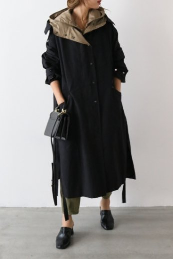 【PRE OREDR-9/30(月)23:59まで】3way mods coat (liner down vest set) / black