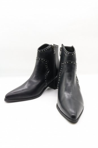 【PRE ORDER-9/30(月)23:59まで】silver studs western boots
