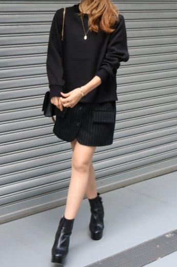<img class='new_mark_img1' src='https://img.shop-pro.jp/img/new/icons14.gif' style='border:none;display:inline;margin:0px;padding:0px;width:auto;' />jacket layered design dress / black