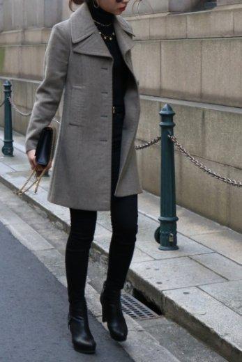 【vintage】MARNI / single button wool coat / gray