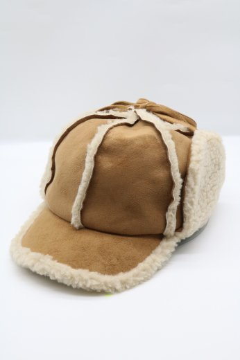 mouton flight cap / beige